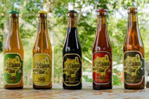 Diferentes tipos de cerveza de Pirineos Bier