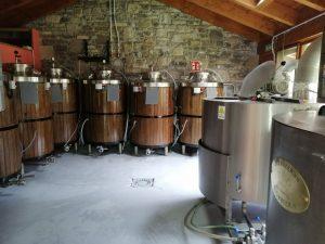 Parte de las instalaciones de Pirineos Bier