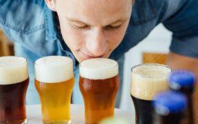 Catar una cerveza artesana