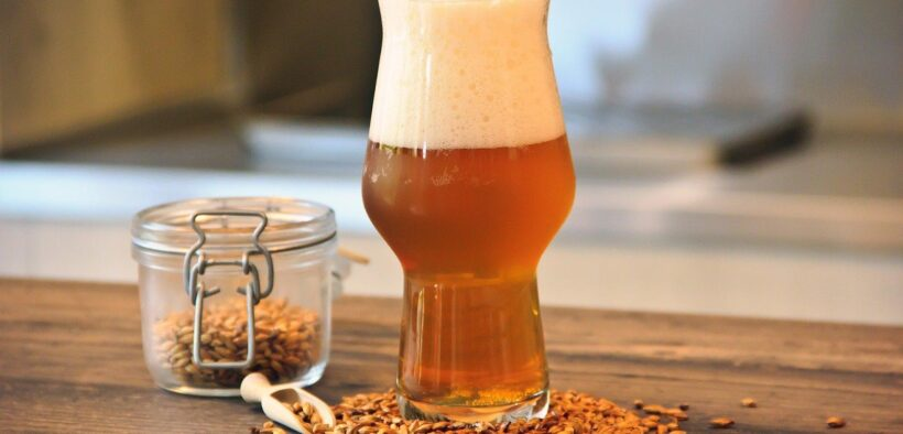 Imagen de de una cerveza de estilo Saison